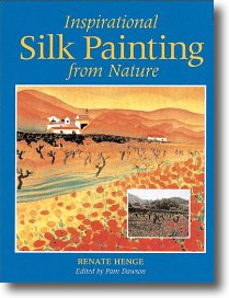 Inspirational Silk Painting from Nature - Book Review by Teena Hughes