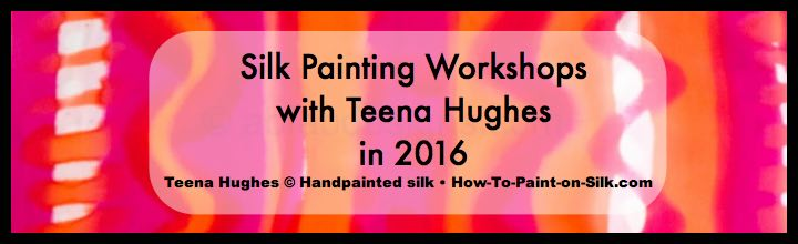 August News 2015 - Silk Paiting in 2016