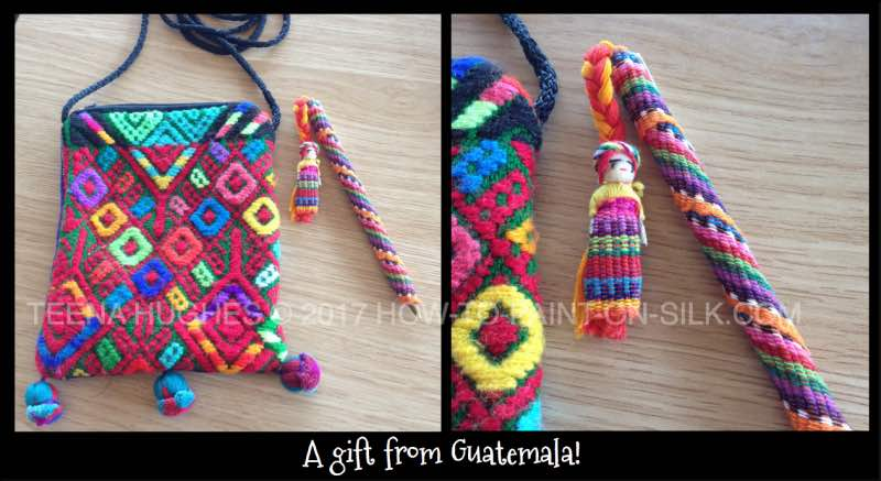 Gorgeous colourful designs from Guatemala for Teena Hughes
