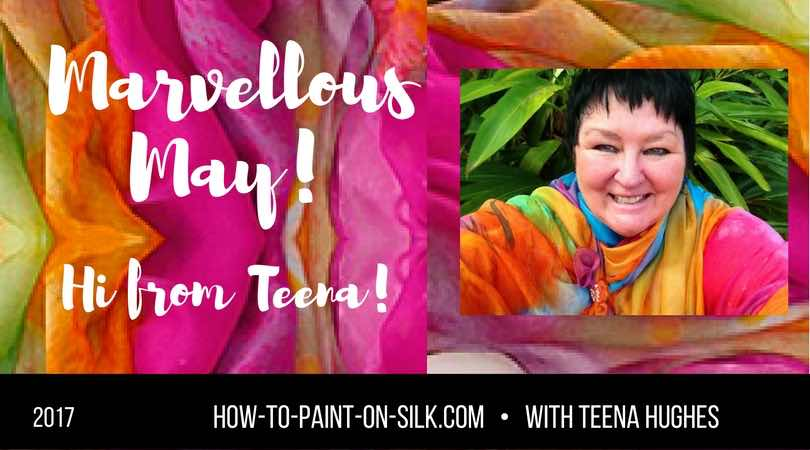 Silk Painting News from Teena!