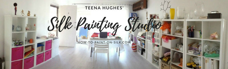 Teena Hughes Silk Painting Studio